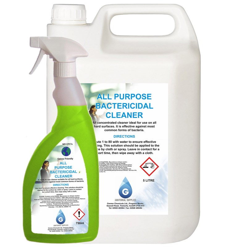All Purpose Bactericidal Cleaner